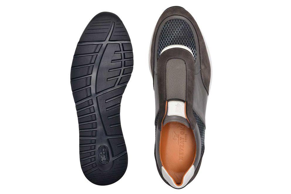Hakiki Deri Haki Günlük Sneaker Erkek Ayakkabı -11374-